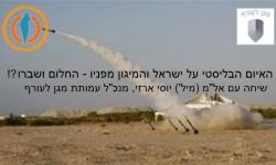 האיום הבליסטי על ישראל והמיגון מפניו – החלום ושברו?!